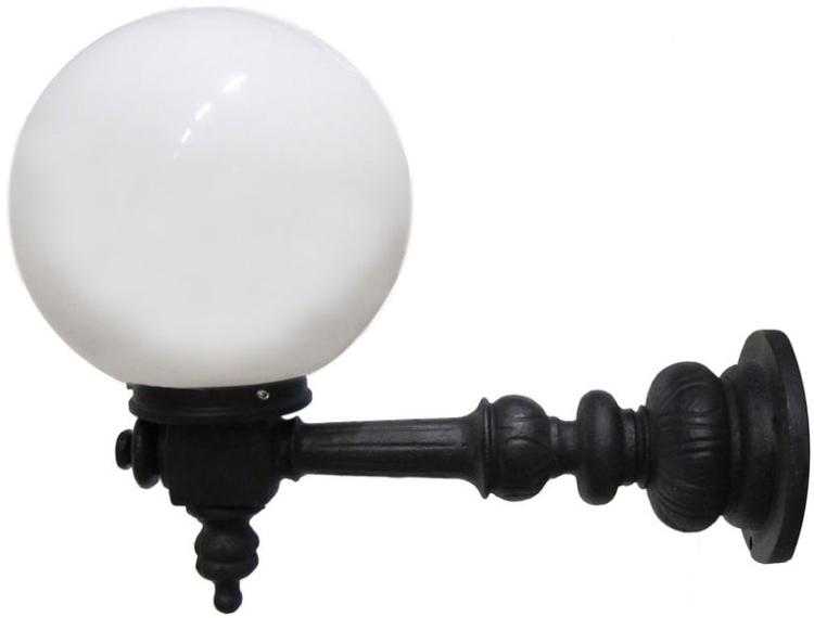 Kulturjern Rådhuslampa Lysvik-M Glob Utelampa Vägg