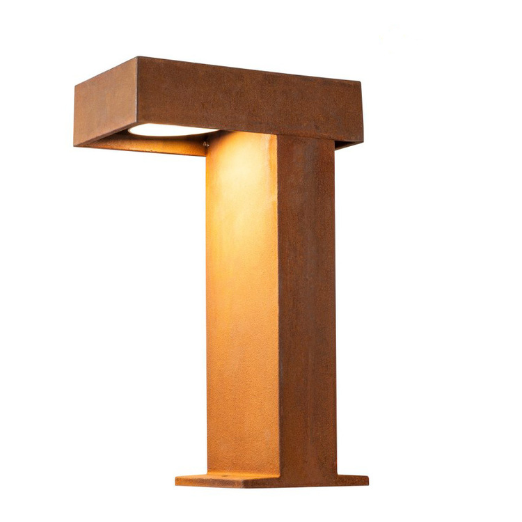 Bellalite Rusty Pathlight 40cm Pollare LED Cortenstål
