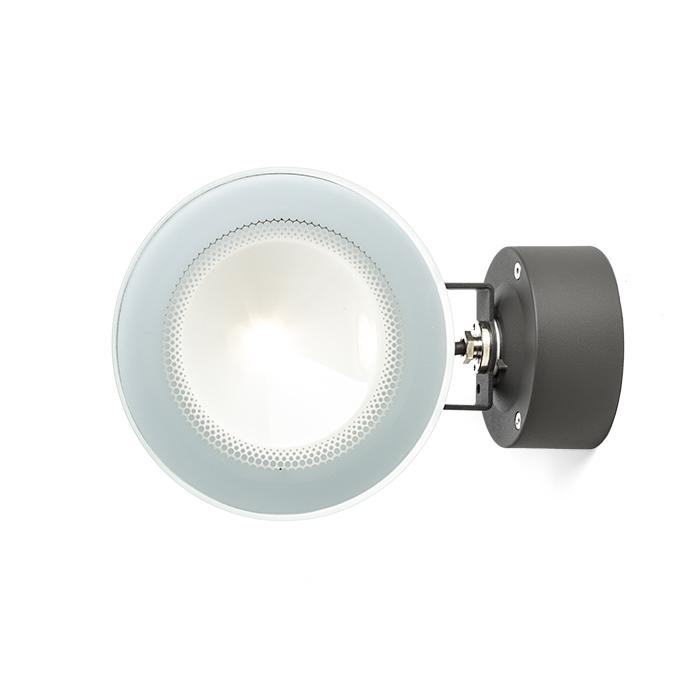Rendl Fox Utelampa Vägg/Mark LED Antrasitgrå