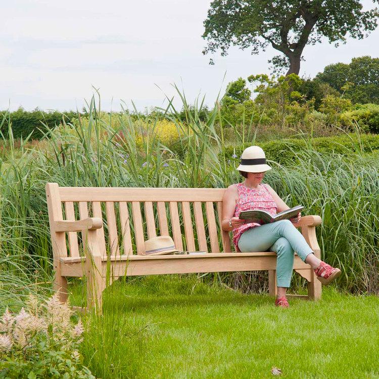 Trädgårdsbänk Royal Park 5ft Roble