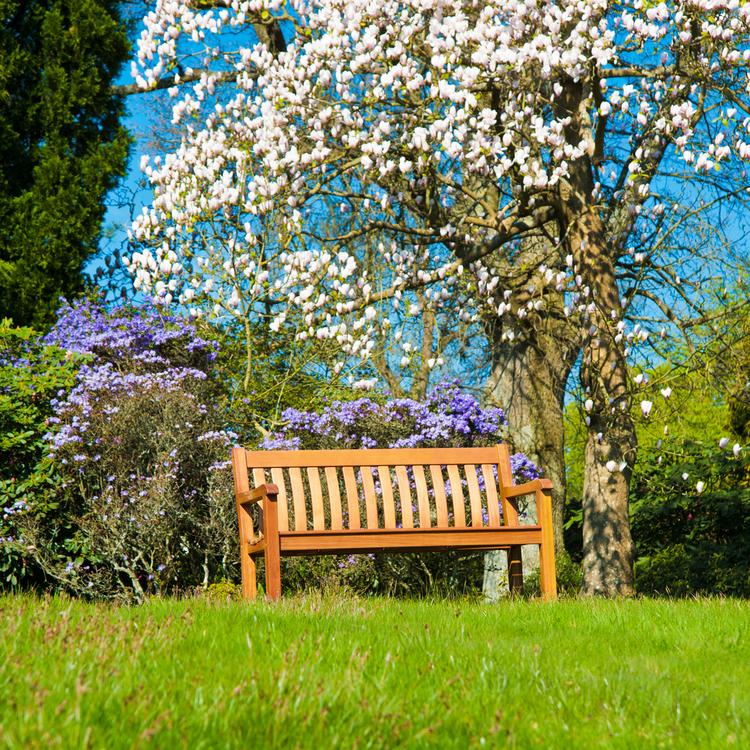 Trädgårdsbänk St. George 4ft Cornis