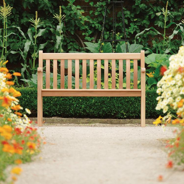 Trädgårdsbänk Broadfield 4ft Mahogny