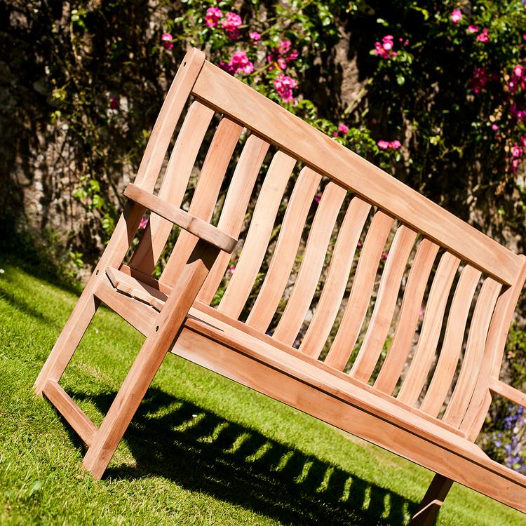 Trädgårdsbänk High Back 5ft Mahogny