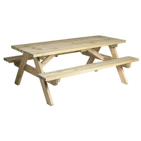 Heavy Duty Picnic Bord 6ft Furu