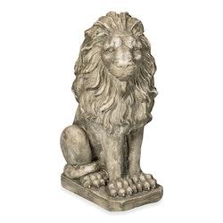 Betongfigur Sittande Lejon