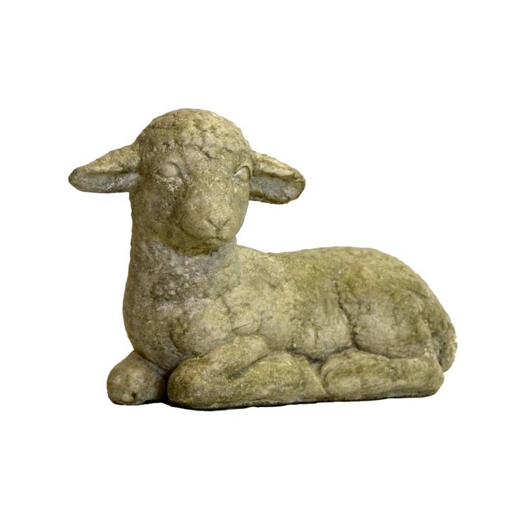 Trädgårdsfigur Lamm