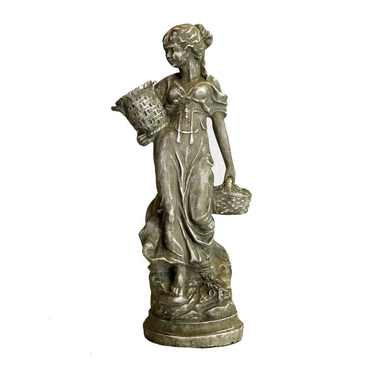 Staty Kvinna med Krukor