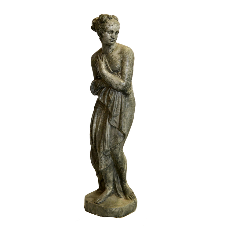 Staty Skylande Kvinna