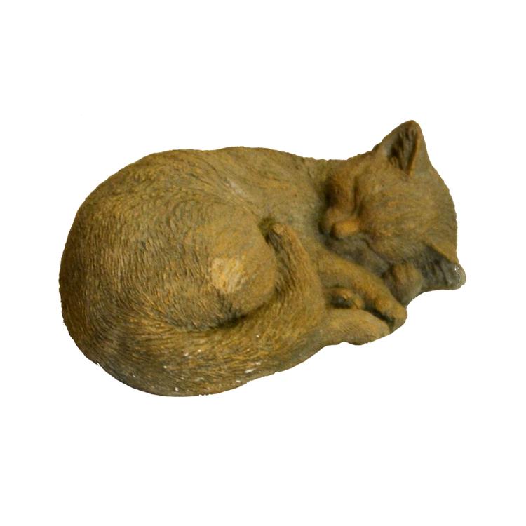 Sovande Katt Guld