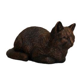Vilande katt Brons