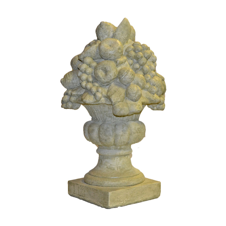Trädgårdsfigur Fruktkorg Stor