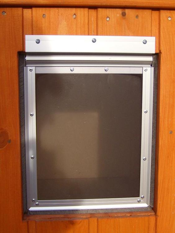 Hundlucka 45×35 cm
