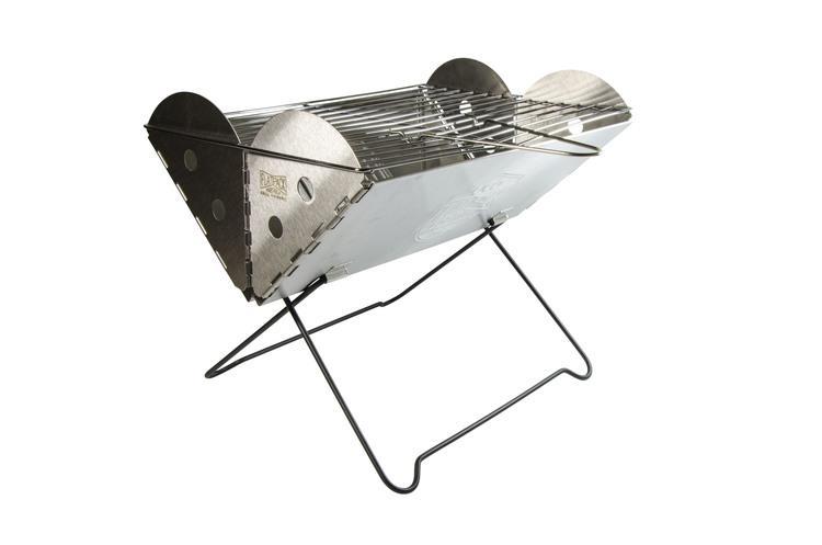 Hopfällbar grill - Flatpack Grill & Firepit