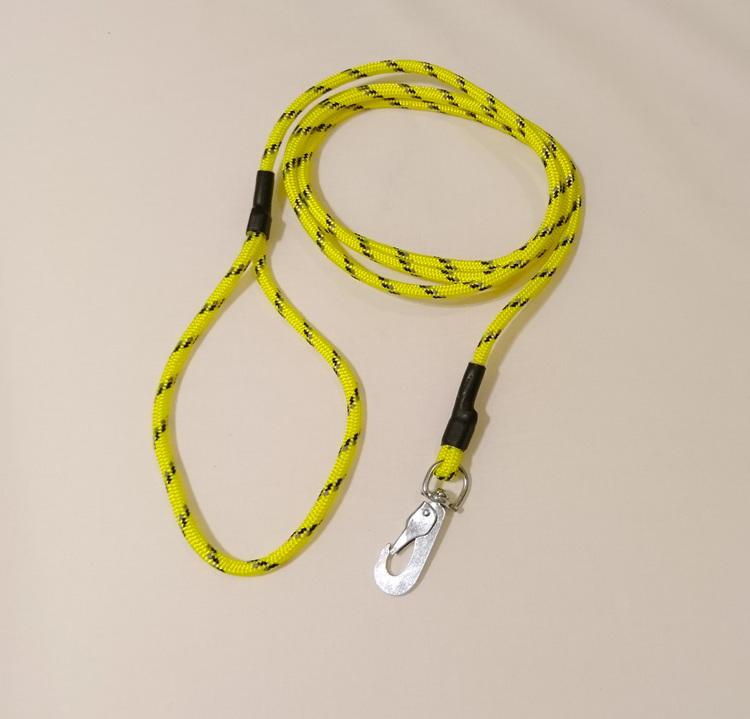 Koppel med reflex 180cm - Gul
