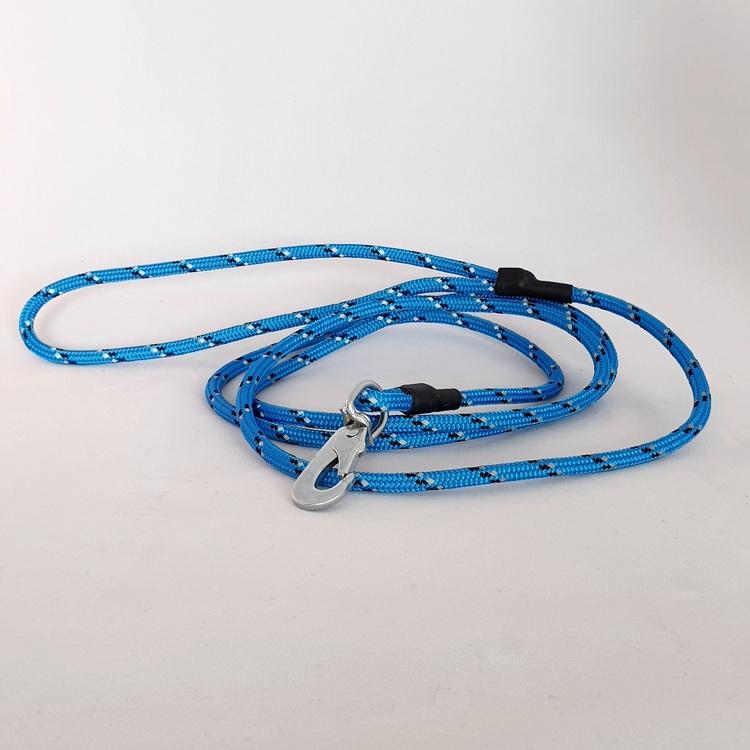 Koppel med reflex 180cm - Blå
