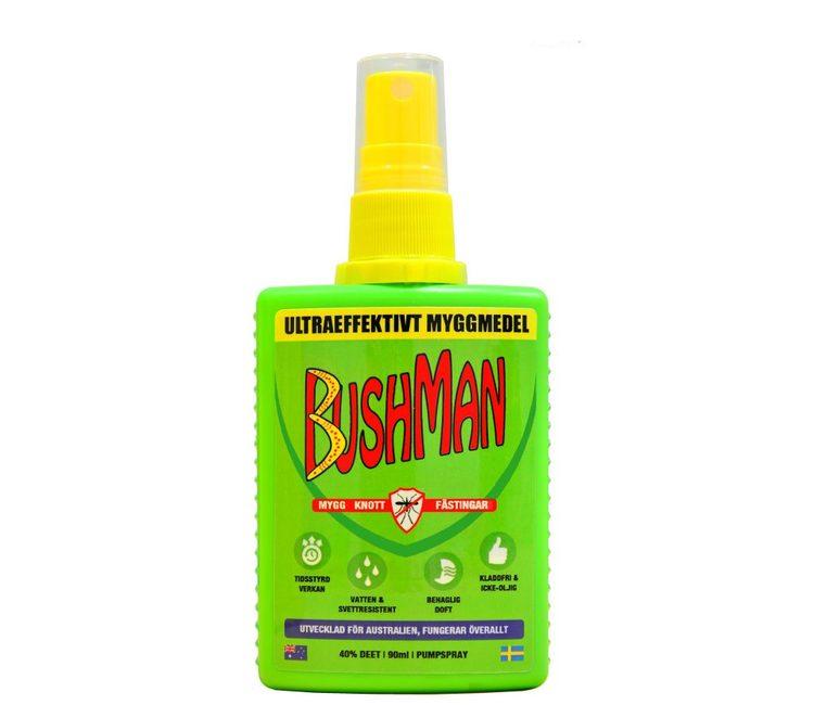 Bushman SPRAY 90 ml. Myggmedel
