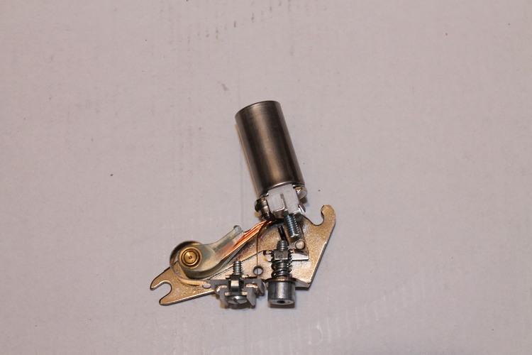 Brytarspets med kondensator