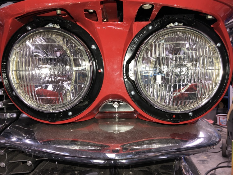 "Framlampa / Sealed Beam ""T3"""