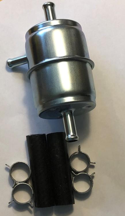 Bensinfilter Plåt med returledning till A/C bil