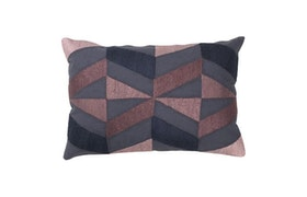 Prydnadskudde, Embroidered Boheme cushion, Cozy living