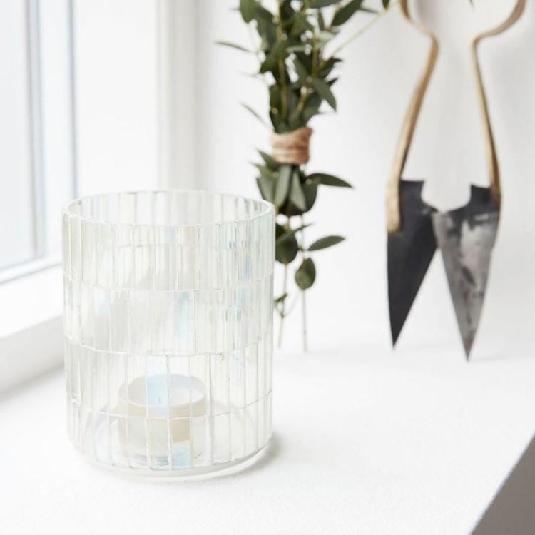 Värmeljushållare, Mosaic, house doctor