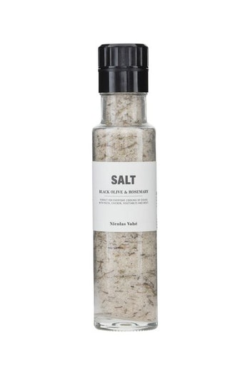 SALT MED SVARTA OLIVER & ROSEMARIN