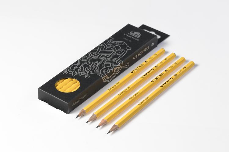 Viking 029 Skoleblyanten blyertspennor HB 12-pack