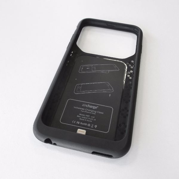 Aircharge iPhone 6 Plus, 6s Plus MFi Qi trådlöst laddningsskal - utan telefon
