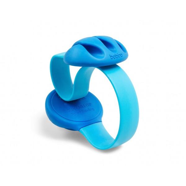 Kabelklämma för bordskant - blå
