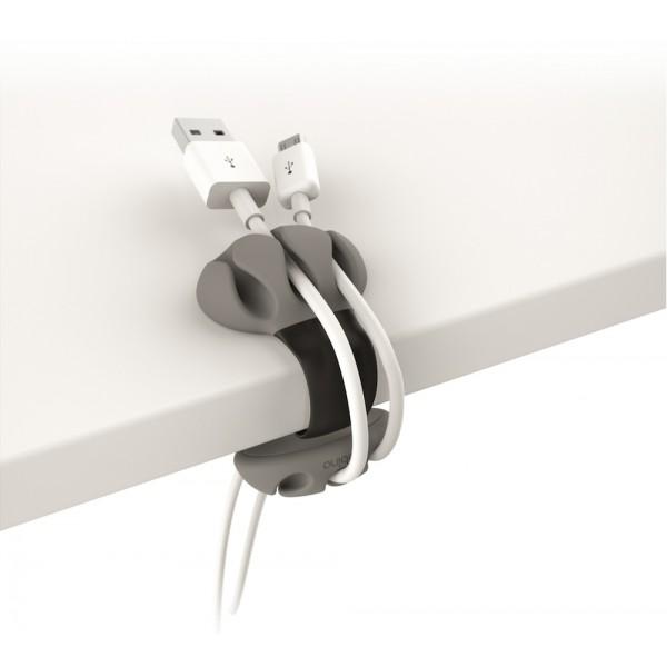 Kabelklämma för bordskant - svart