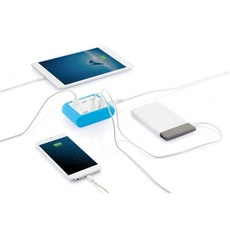 Loooqs mobilladdare med 6 uttag