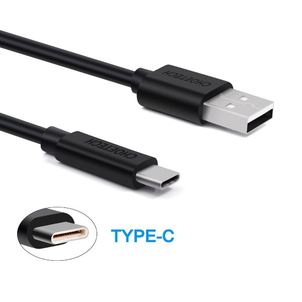 USB-A till USB-C kabel medföljer