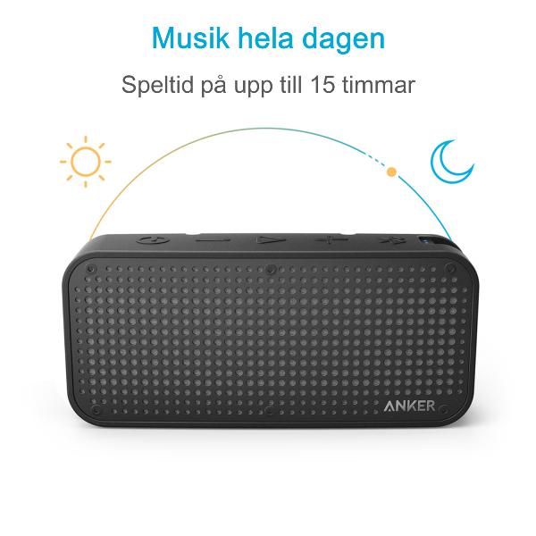 Anker SoundCore Sport XL bluetooth högtalare med 15 timmars speltid