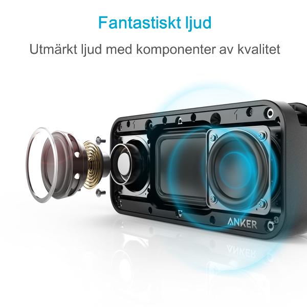 Anker SoundCore Sport XL bluetooth högtalare med fantastiskt ljud