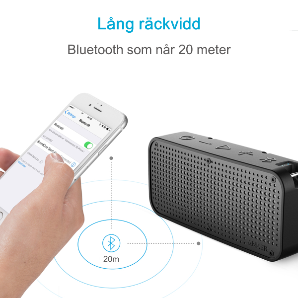 Anker SoundCore Sport XL bluetooth högtalare med lång räckvidd