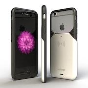 Aircharge iPhone 6/6s MFi Qi trådlöst laddningsskal