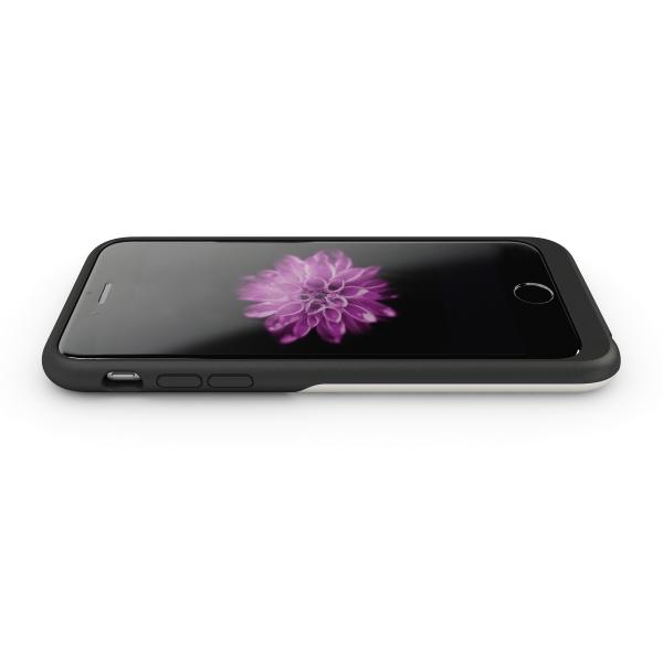 Aircharge iPhone 6/6s MFi Qi trådlöst laddningsskal med iPhone, liggande