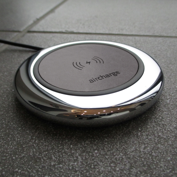 Aircharge Executive trådlös laddare läder