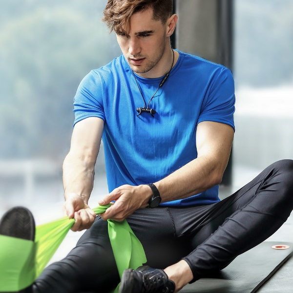 Anker SoundBuds Slim bluetooth hörlurar perfekt vid träning
