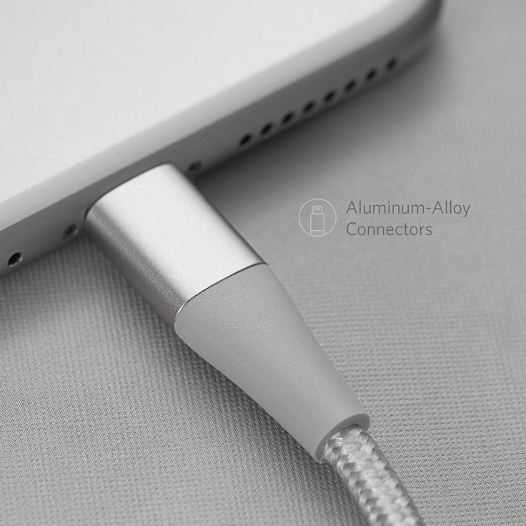 Anker PowerLine+ II 180cm silver kontakt design