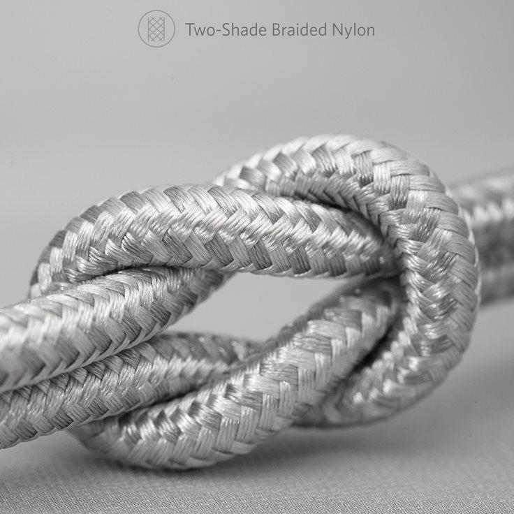 Anker PowerLine+ II 180cm silver stark kabel