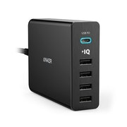 Anker PowerPort+ 5 - USB-C Power Delivery laddare