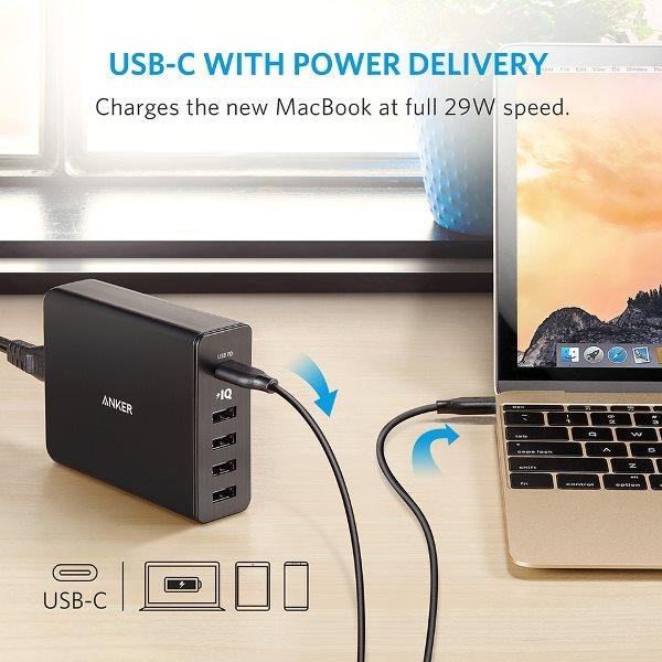 Anker PowerPort plus 5 USBC PD 30W