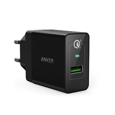 Anker PowerPort+ 1 - Quick Charge mobilladdare