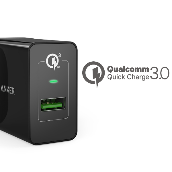 Anker PowerPort+ 1 - Quick Charge mobilladdare - med Quick Charge 3.0