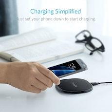 Anker Powerport Qi 10W trådlös mobilladdare