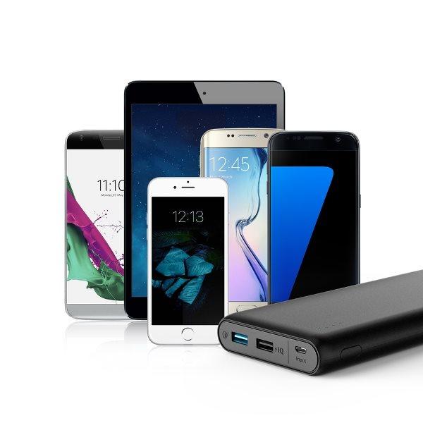 Anker PowerCore Speed 20000mah powerbank för alla telefoner och surfplattor