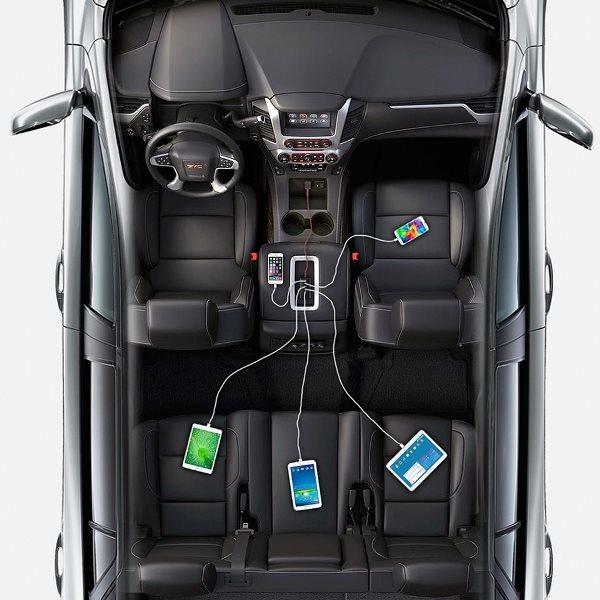 Anker PowerDrive 5 mobilladdare för bilen som alla når