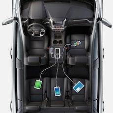 Anker PowerDrive 5 mobilladdaren för alla i bilen