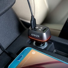 Anker PowerDrive+ 2 mobilladdare med QC 3.0